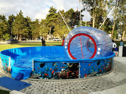 rollerball de agua